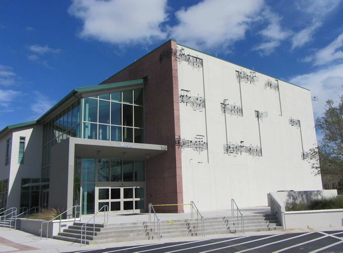The Bower School of Music & the Arts. Image courtesy of artswfl.com.